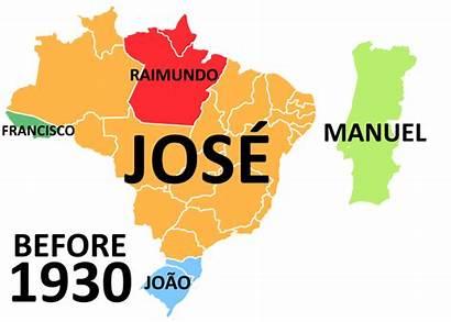 Brazil Portugal Popular Male Most Names Human