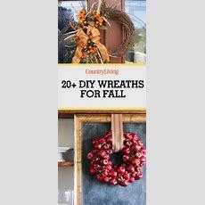 39 Diy Fall Wreaths  Ideas For Autumn Wreath Crafts