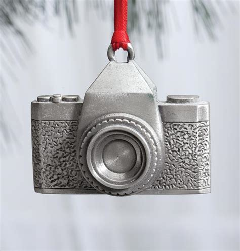 camera christmas ornament pewter ornament ornaments cards exposuresonline