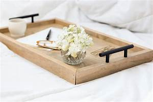 Serving Tray Wood Serving Tray Breakfast Tray by Homestead1227