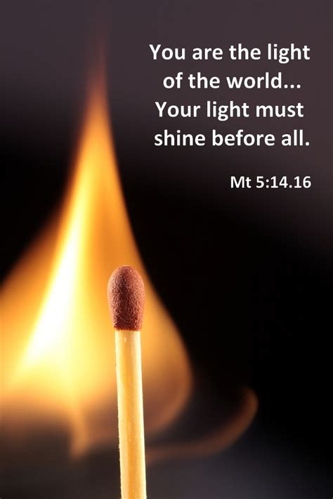 Image result for you are the light of the world