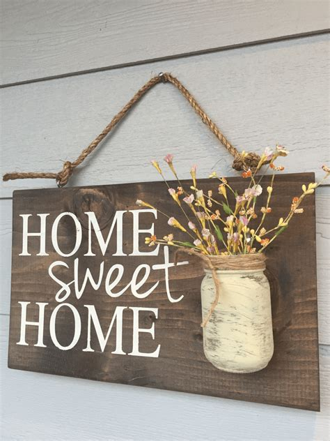 breath taking rustic home décor signs from wood charm