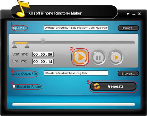 create iphone ringtone how to make your own free iphone ringtone from any audio