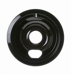 Kenmore 911 93491990 Burner Drip Bowl  6 In  Black
