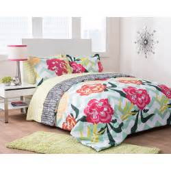formula floral fusion reversible complete bedding set
