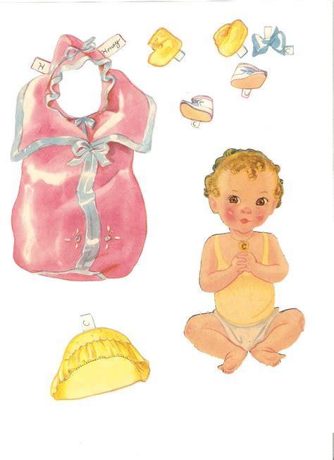 missy paper dolls  baby dolls