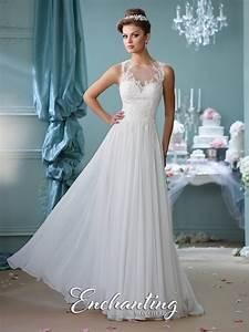 chiffon a line wedding dress 116127 enchanting by mon cheri With mon cheri wedding dresses