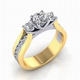 Picking the most popular diamond engagement rings - Ring ...