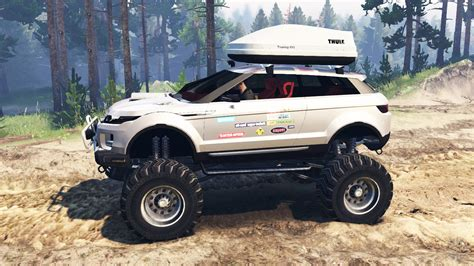 lifted land rover range rover evoque lrx lifted for spin tires