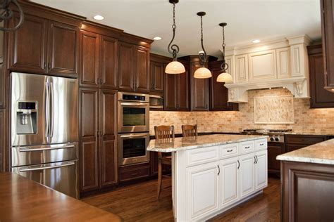 pictures of cabinets il kitchen remodel beautiful cherry cabinet in