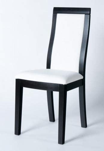 chaise noir et blanc design chaise design bois massif noir et blanc
