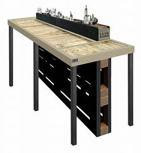 Les 25 meilleures idees de la categorie mange debout sur for Meuble cuisine bois recycle 7 mange debout industrielle bois et metal made in meubles