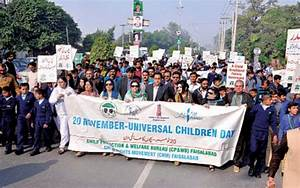 Rally marks children's day - Newspaper - DAWN.COM