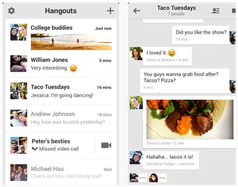 hangouts app iphone hangouts update lets you make free calls to us and
