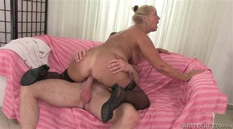 Tanned Granny Slut Bent Over And Pounded Granny Porn