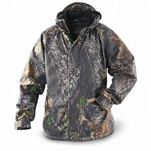 Guide Gear U00ae Scent Control Rain Jacket  New Mossy Oak