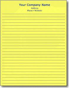100 sheets letter size notepads cheap With letter size notepads