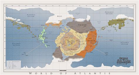 Image Result For Map Of Atlantis Mysterious Strange