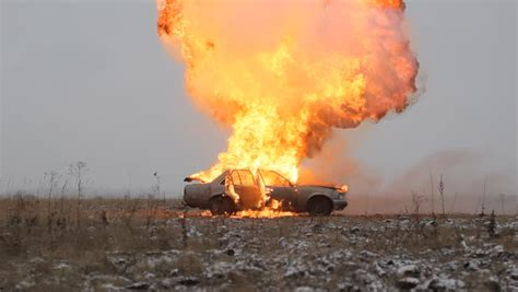 Car Explosion Wallpaper by Explosion Stock Footage