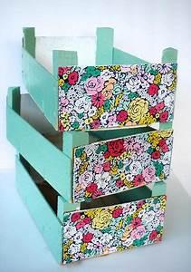 Recyclage Petite Cagette : 7 id es g niales pour r cup rer vos caisses de cl mentines vides diy d corer boite caisse ~ Nature-et-papiers.com Idées de Décoration