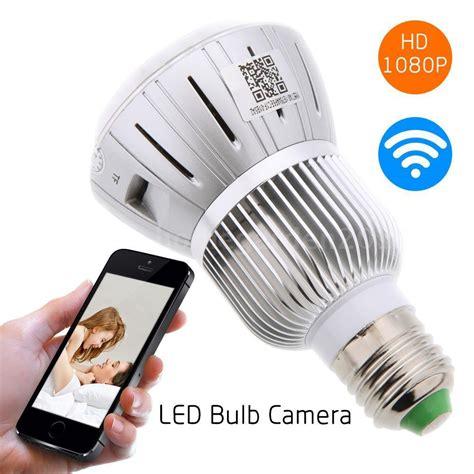 hd 1080p wifi ip light bulb motion