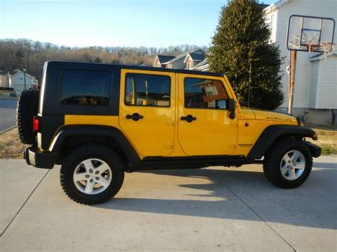Sell Used 2008 Jeep Wrangler Unlimited Rubicon Sport