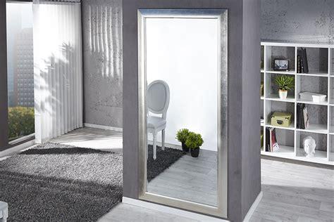 große spiegel günstig kaufen design wandspiegel espejo 180x85cm silber standspiegel riess ambiente de