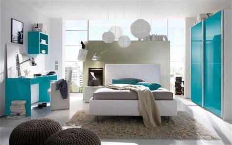 Jugendzimmer Jungen Komplett Weiß Türkis Schlafzimmermöbel