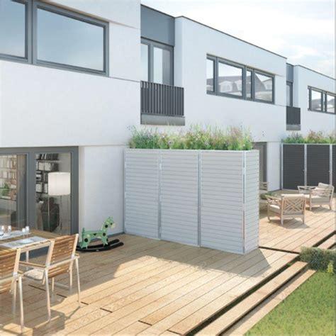 balkon oder terrasse unterschied trennwand f 252 r garten terrasse oder balkon sichtschutz