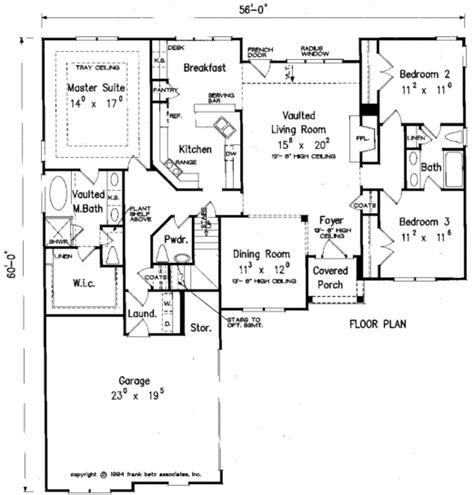 Frank Betz Basement Floor Plans by Bagwell House Floor Plan Frank Betz Associates