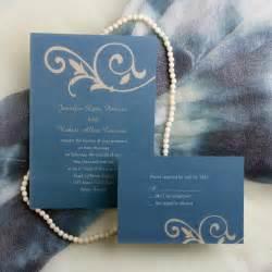 simple wedding invitations simple floral blue wedding invitations ewi033 as low as 0 94
