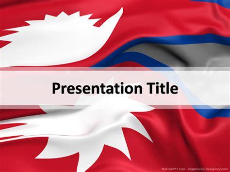 nepal powerpoint template   powerpoint