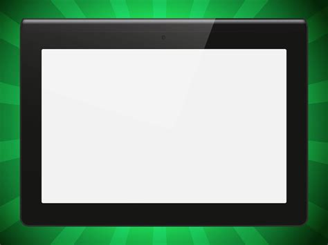 sony tablet  vector