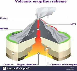 Diagram  Cinder Cone Volcano Diagram