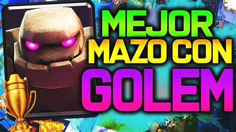 EL MEJOR MAZO DE GOLEM!!!! - YouTube