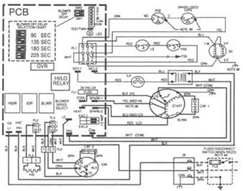 components symbols  circuitry  air conditioning