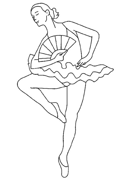 ballet coloring pages birthday printable