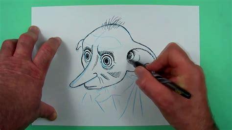 wie zeichnet man dobby den hauself zeichnen fuer kinder