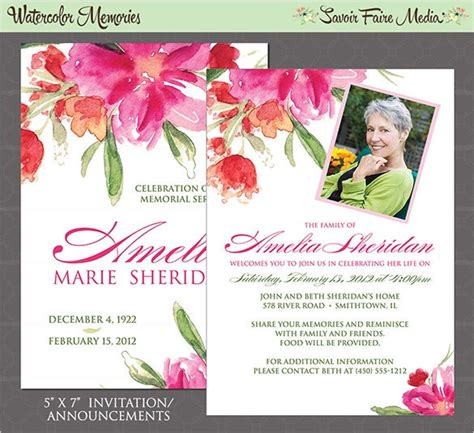 funeral   cards psd ai eps