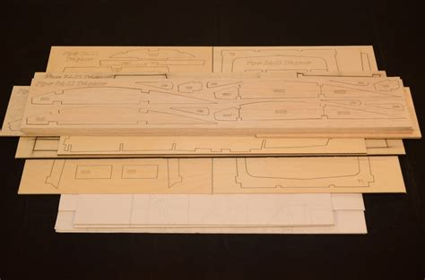Laser Cut L by Large 1 5 Scale Piper Pa 22 Tri Pacer Laser Cut Kit