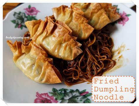 dumpling dumplings airfried crispy noodle dry mee shrimp dim sum budgetpantry