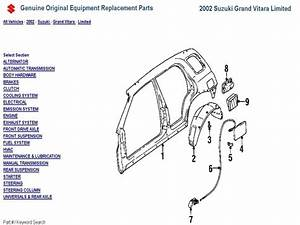 2000 Chevy Tracker Exhaust System Diagram