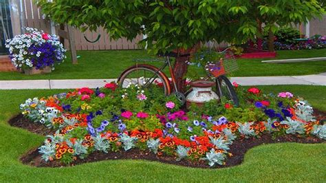 How To Make Inexpensive Flower Beds