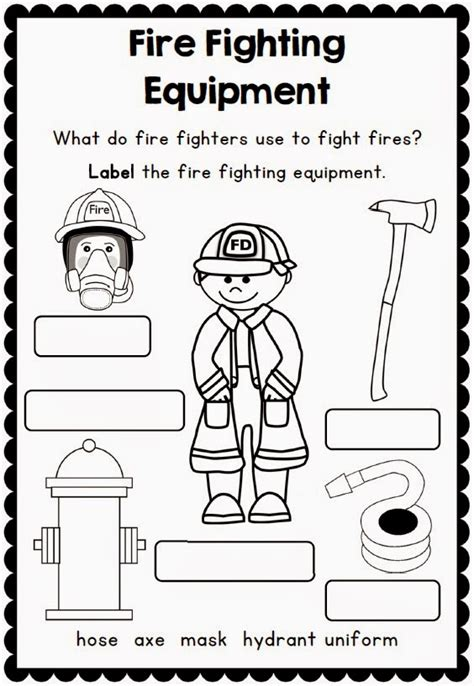 fire safety worksheets for preschoolers safety printables and support resources clever 226