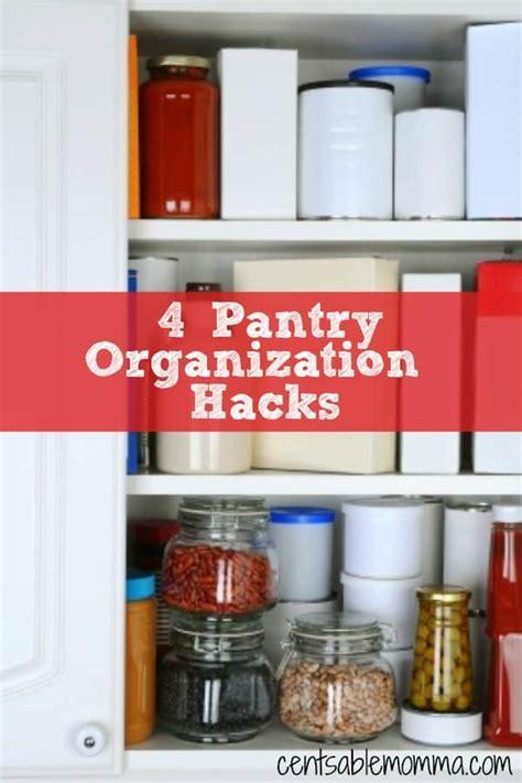 kitchen organization hacks 4 pantry organization hacks centsable momma 2358