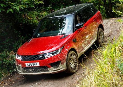 range rover sport redesign   automotive