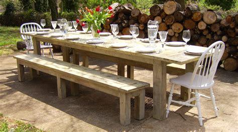 outdoor farmhouse dining table large farmhouse table silo christmas tree farm