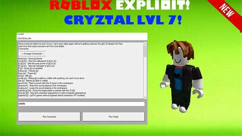 roblox exploit cryztal full level  patched speed