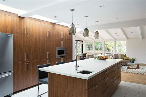mid century kitchen lighting mid century house remodel project by klopf architecture in 7495
