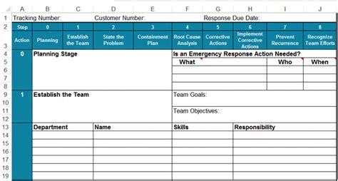 report template  excel  disciplines report